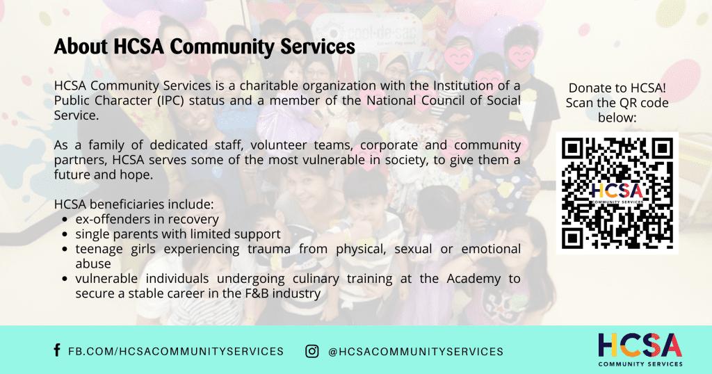About HCSA Community Services