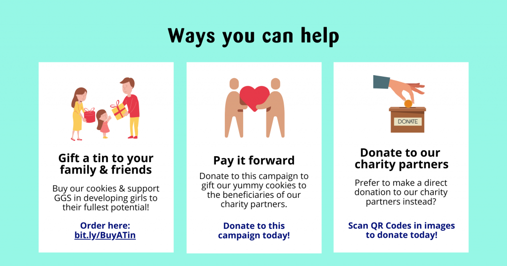 Ways You Can Help GGS